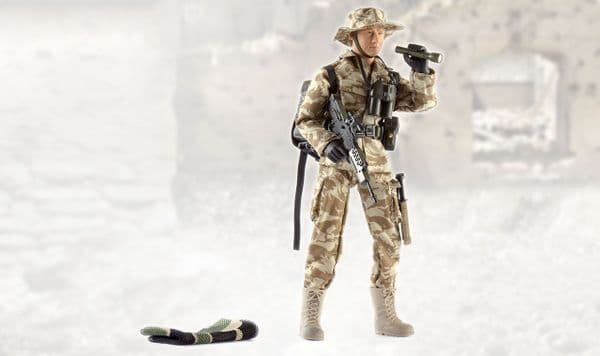 World Peacekeepers S.A.S 12in Poseable Army Action Toy Figure
